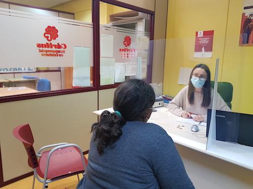 Cáritas Calahorra hace balance de su actuación en la pandemia