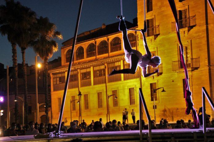 Circo Candore en la Plaza de la Catedral de Calahorra
