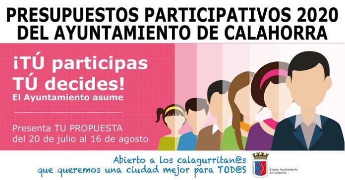 Presupuestos participativos 2020 Calahorra