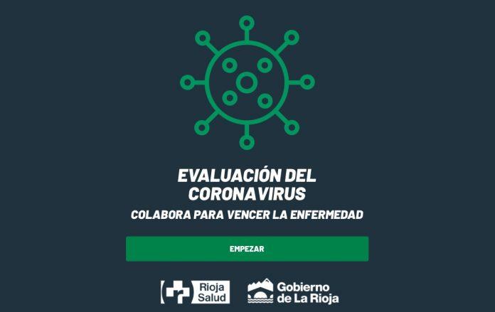 autoevaluación coronavirus en la rioja