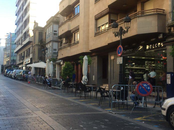 Terrazas calle Mártires