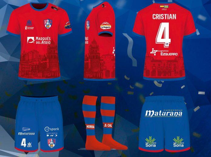 Equipamiento deportivo CD Calahorra temporada 2020/21