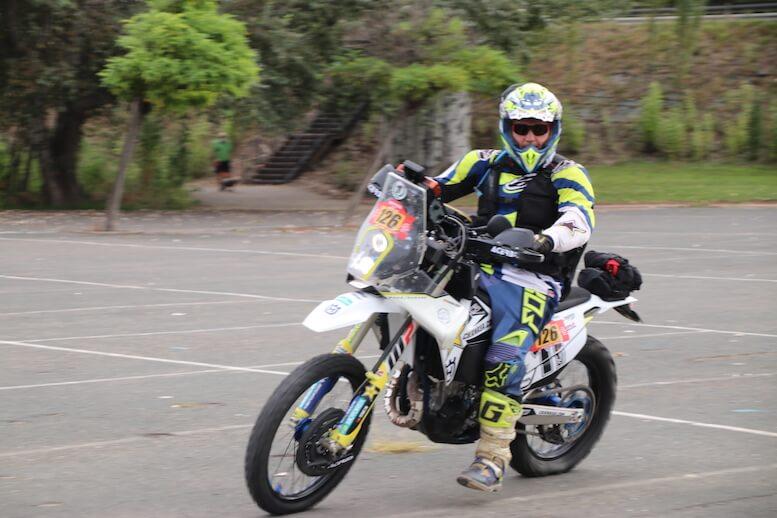 moto club aventura touareg