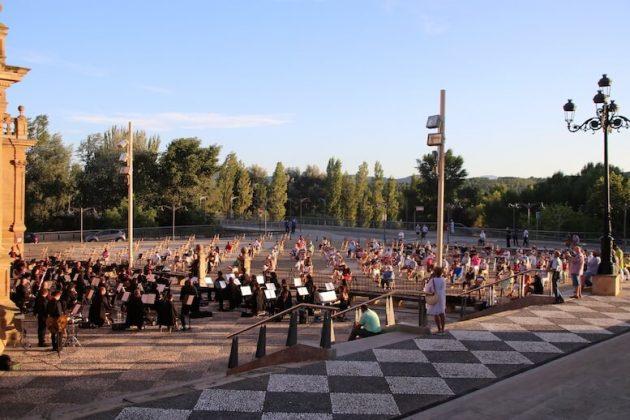 concierto banda música de Calahorra catedral