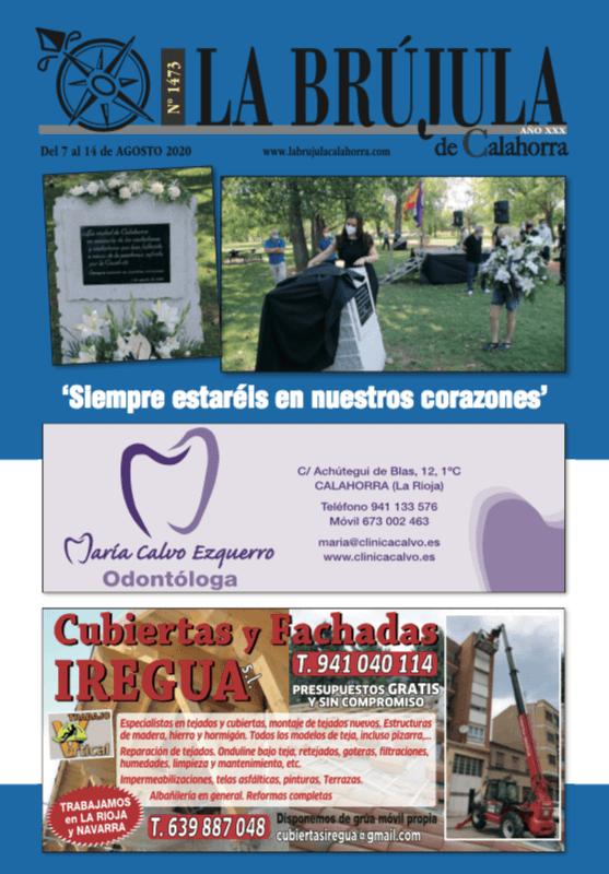 LA BRUJULA 1473-7 AGOSTO 2020