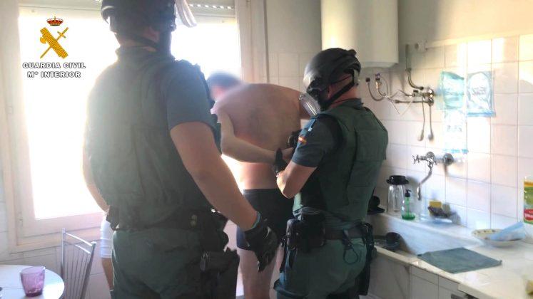 Dos detenidos por tráfico de drogas en Fuenmayor