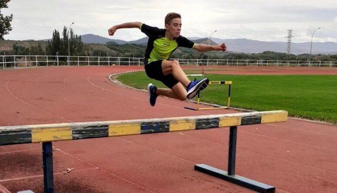 Mikel Abad atleta calagurritano