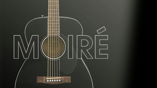 cartel concierto Moiré