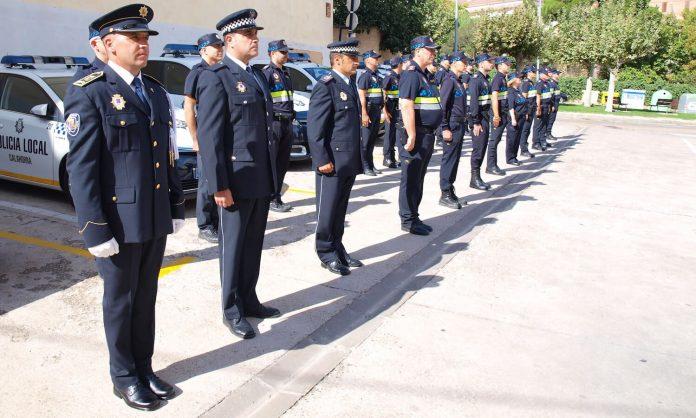 Policía Local Calahorra formación