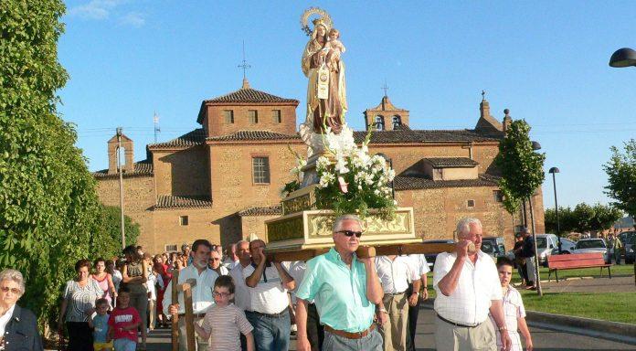 procesión Día del Carmen