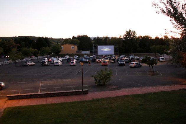 parking catedral autocine cortos