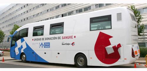 autobús Banco de Sangre