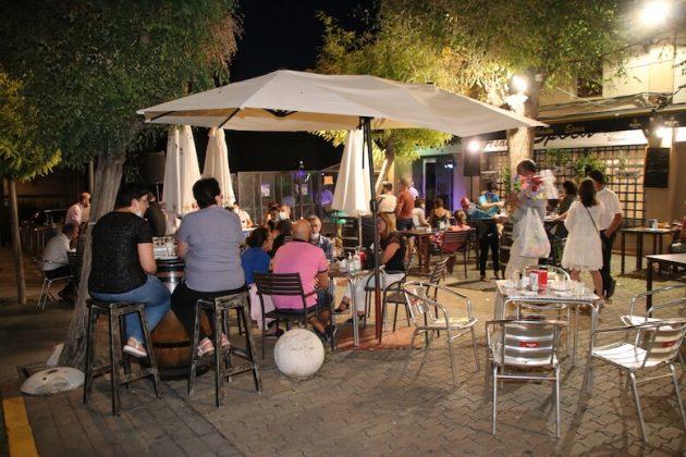 Cena musical en Pasaje Díaz, sábado 15-08-2020