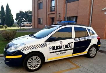 coche policía local calahorra