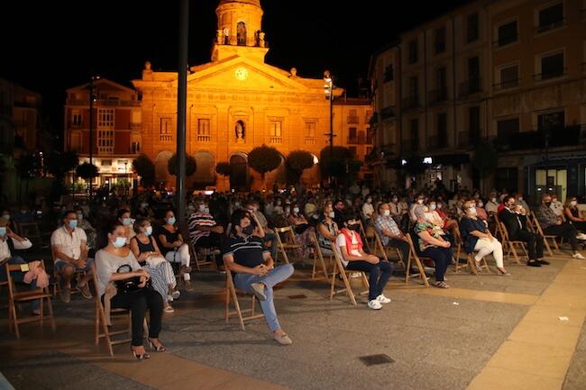 público concierto Isabel Luna Plaza Raso