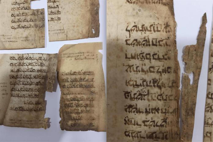 fragmentos antigua biblia judía
