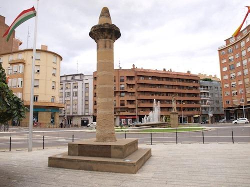 Monumento La moza Calahorra