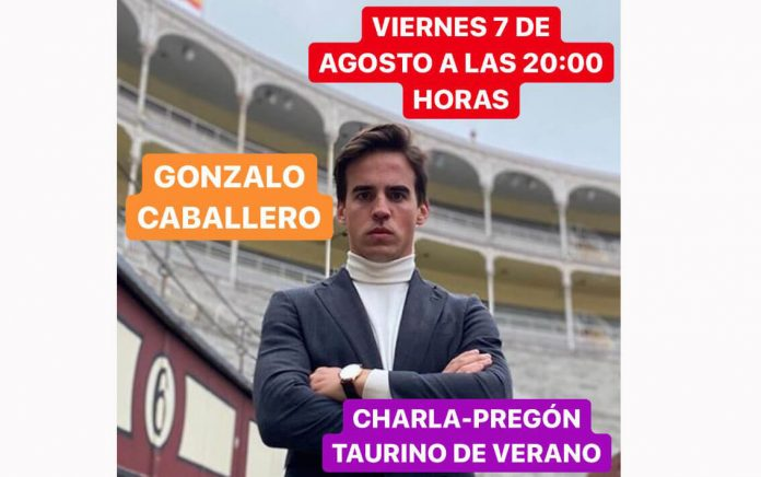 charla Club Taurino Gonzalo Caballero