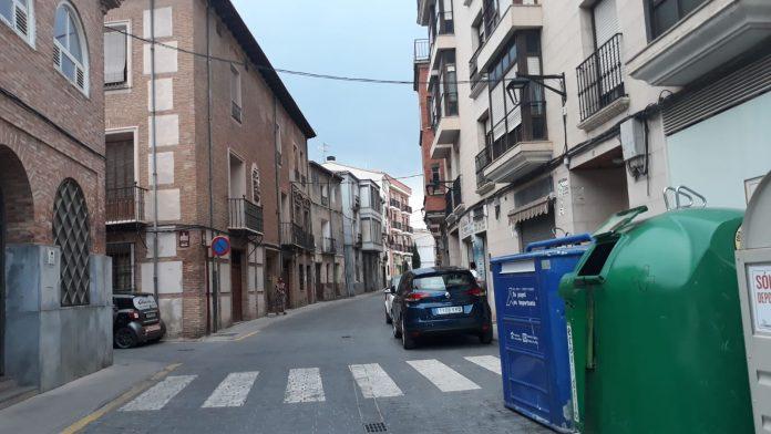 Calle Coliceo nueva ordenación sobre estacionamiento