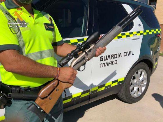 Guardia Civil detiene cazador furtivo