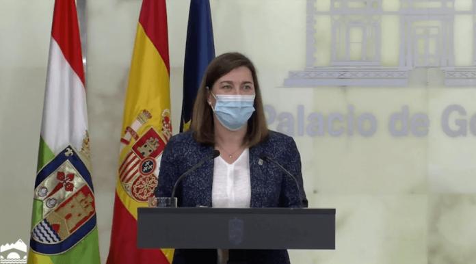 consejera Sara Alba anuncia cierre calahorra