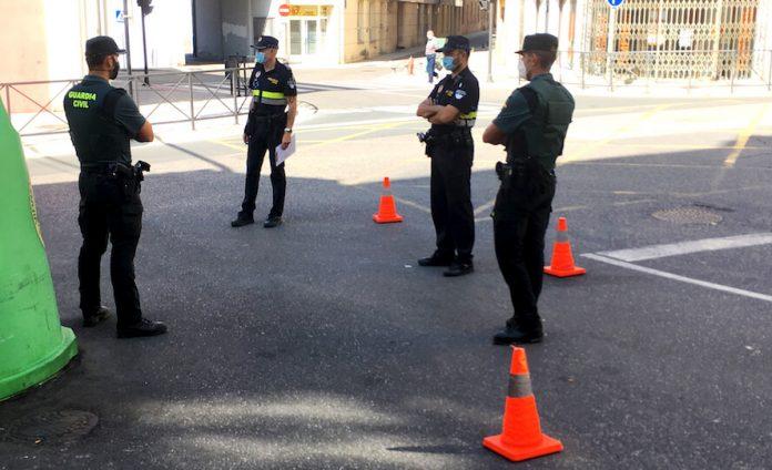 control policía-guardia civil