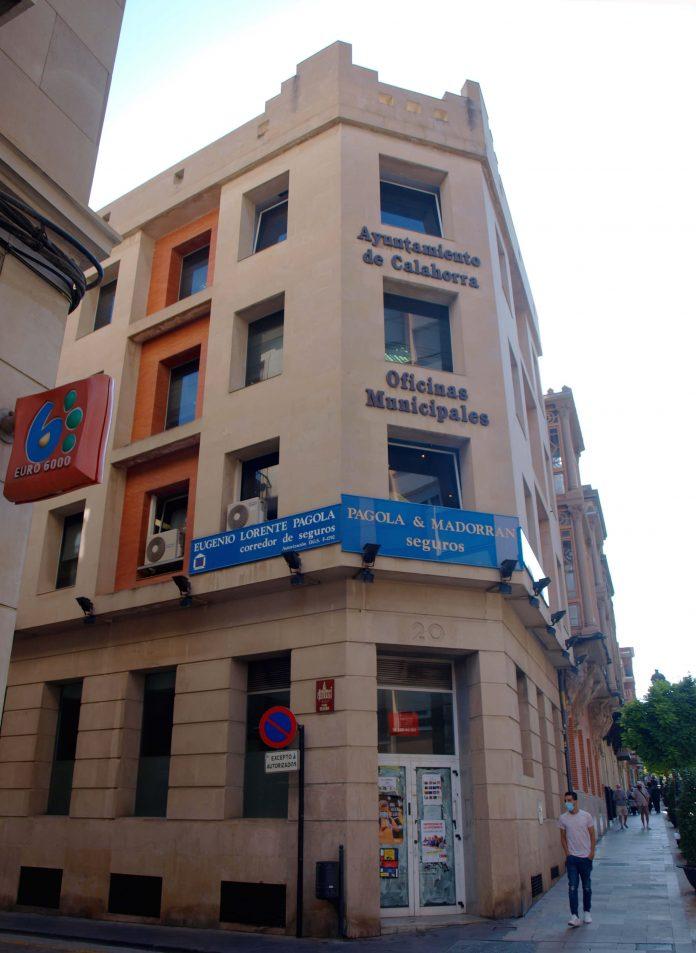 edificio oficinas municipales calle Teatro
