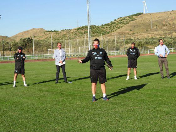 primer entrenamiento CD Calahorra 2020:21 1