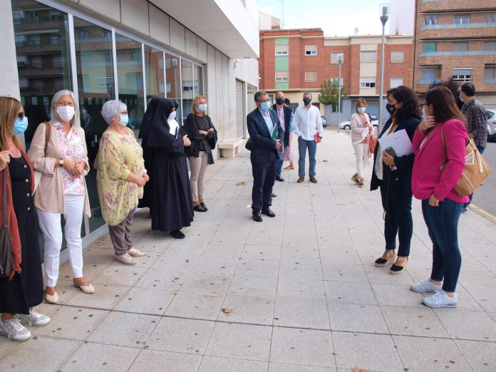 reunión Concha Andreu - centros de ancianos