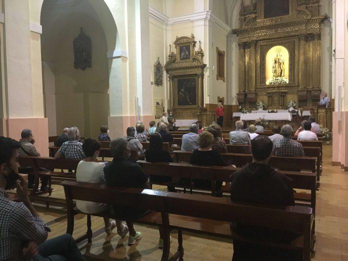reunión en el Santuario del Carmen