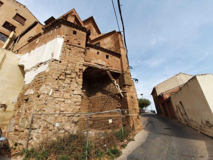 Trasera de la iglesia de San Andrés