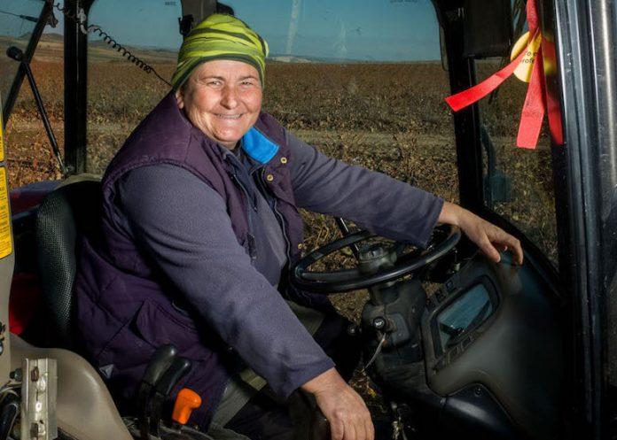 Adelfa Gómez. Agricultora de ARAG-ASAJA