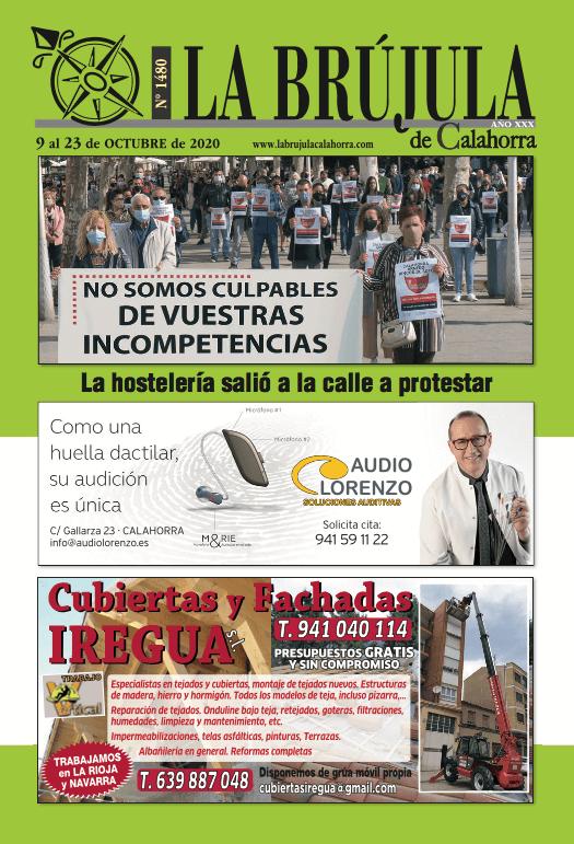 PORTADA LA BRÚJULA 1480-9 octubre 2020