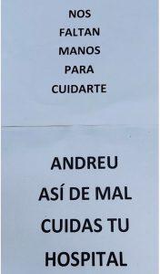 letreros manifestac