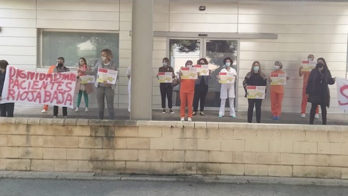 manifestación urgencias FHC8- octubre