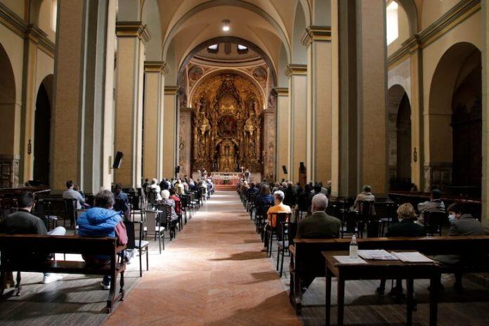 misa en santiago festividad de san francisco
