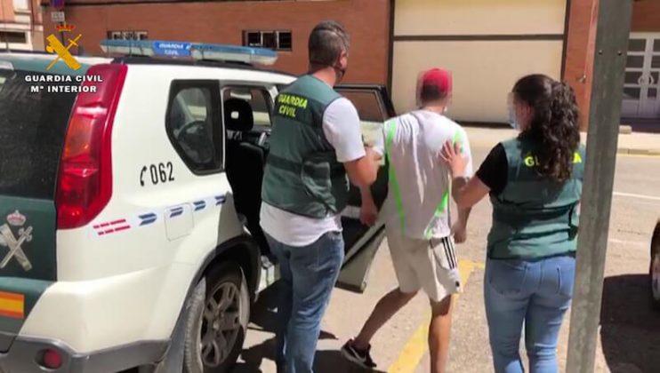 Traslado detenido Arnedo