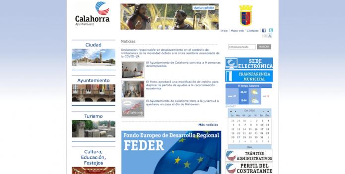 web ayuntamiento calahorra