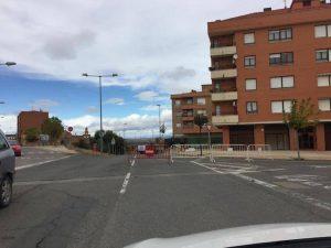 calle santander cortada