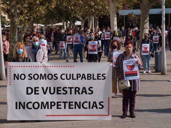 concentración hosteleros Calahorra