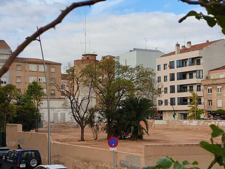 cuartel guardia civil derribado