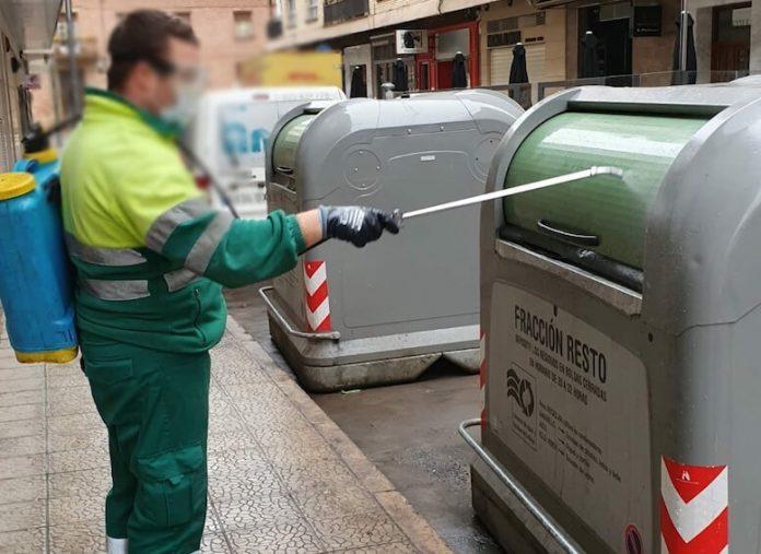 desinfección de contenedores calahorra