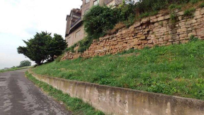 muralla romana cuesta de Juan Ramos
