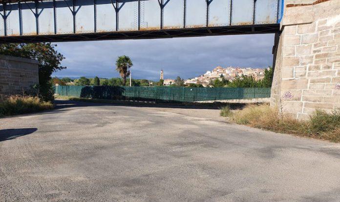 reparación camino Algarrada-Cidacos