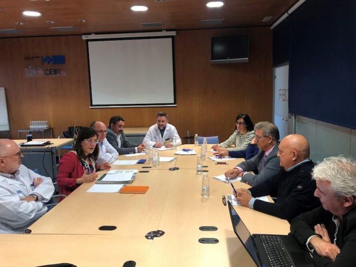 reunión Salud con el Colegio Oficial de Médicos