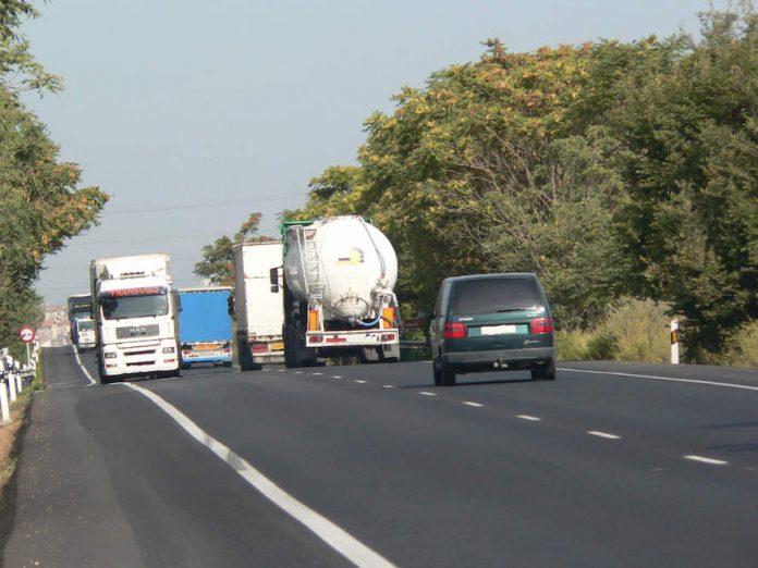 tráfico camiones