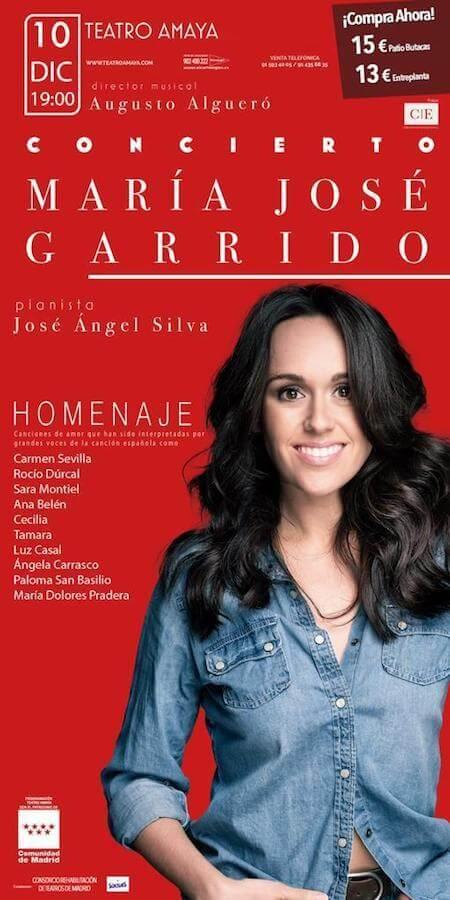 Mari Jose Garrido actriz y cantante