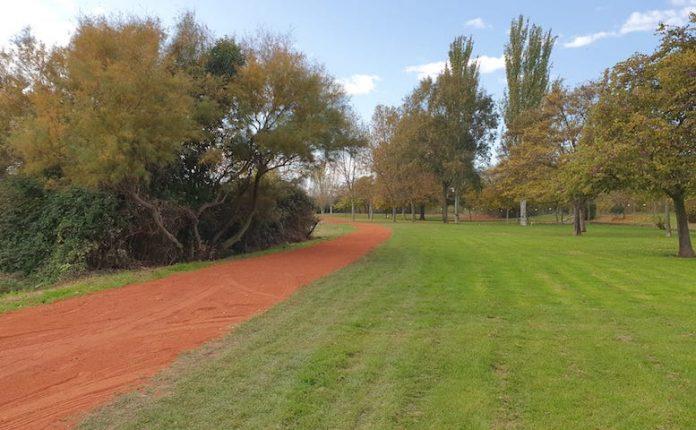 Reparacion caminos parque cidacos