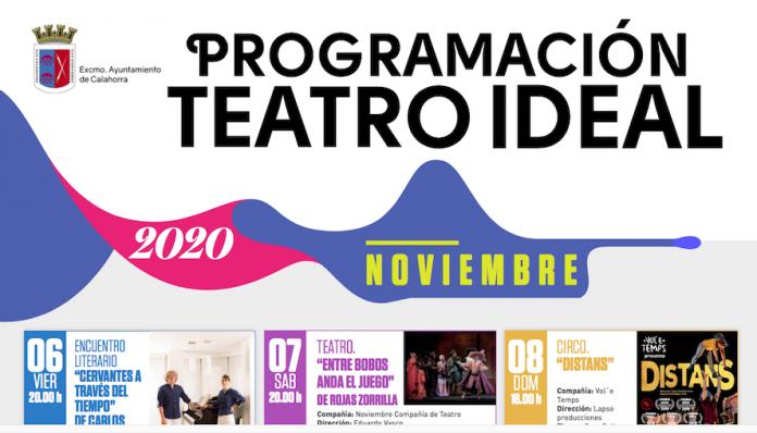 programación teatro 6-8 nov.