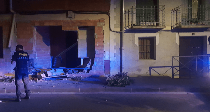 accidente calle Mediavilla